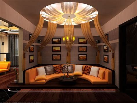 Black And Orange Living Room Ideas by Living Room Furniture And Ceiling Design At Of
