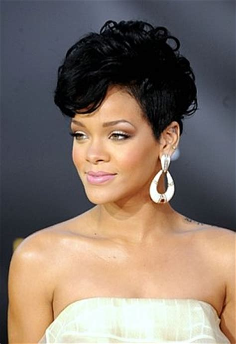 rihanna images of front and back short hair styles celebrity clothing celeb rihanna short hairstyles front