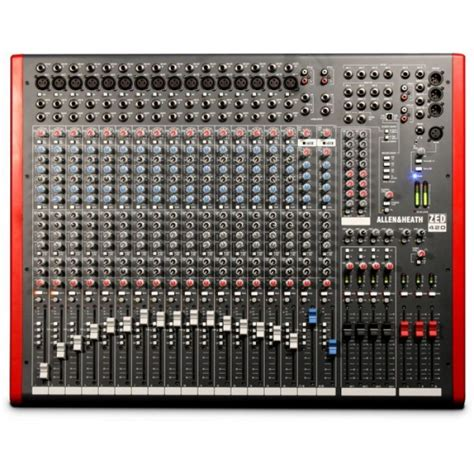 Harga Channel jual allen heath zed 420 16 channel usb mixer