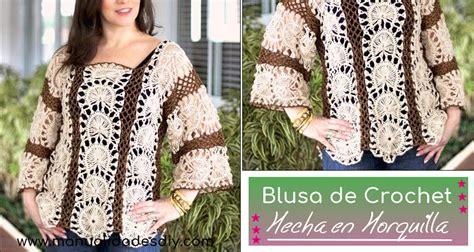 blusas de orquilla blusa tratando de tejer prendas tejidas blusa de crochet hecha en horquilla manualidades y