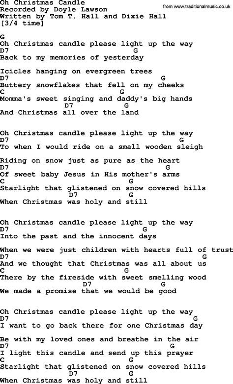 light a candle for peace lyrics oh christmas candle bluegrass lyrics with chords