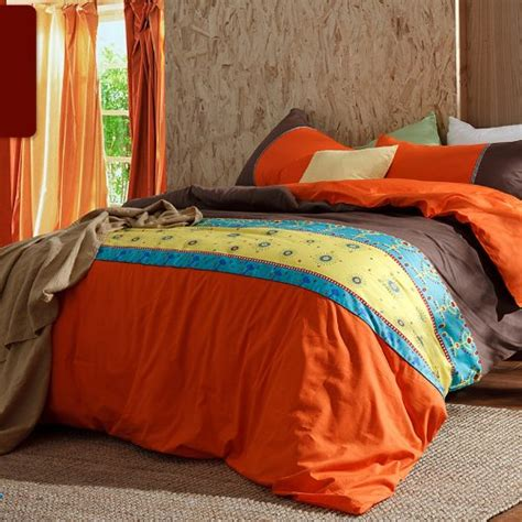 Bright Orange Bedding Set 10 Bright Orange Comforters And Bedding Sets