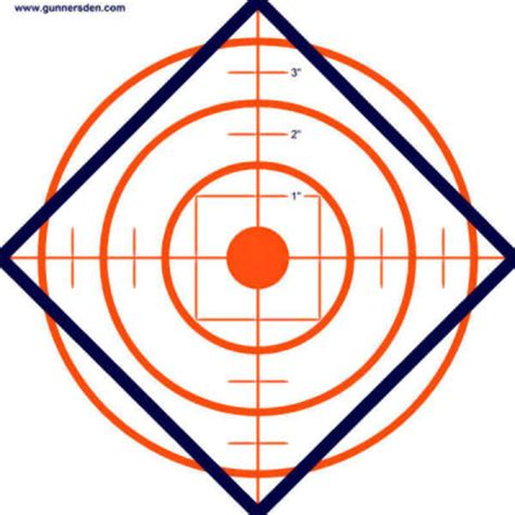 printable rifle sight in targets print out targets clipart best