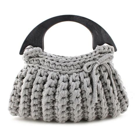 crochet zpagetti bag pattern diy crochet kit zpagetti bag milano grey hoooked