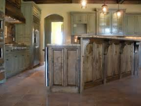 kitchen island with raised bar rustic island with raised