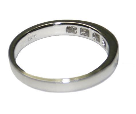 950 platinum 0 30ct s ring size 7 25