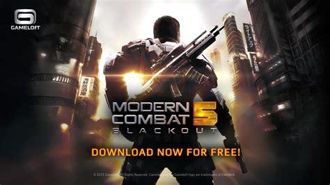 modern combat 5 blackout apk descargar modern combat 5 blackout mega android apk