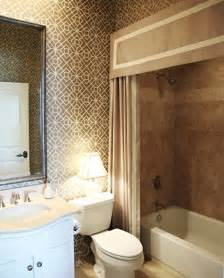 Bathroom Curtain Ideas by Making Your Bathroom Look Larger With Shower Curtain Ideas