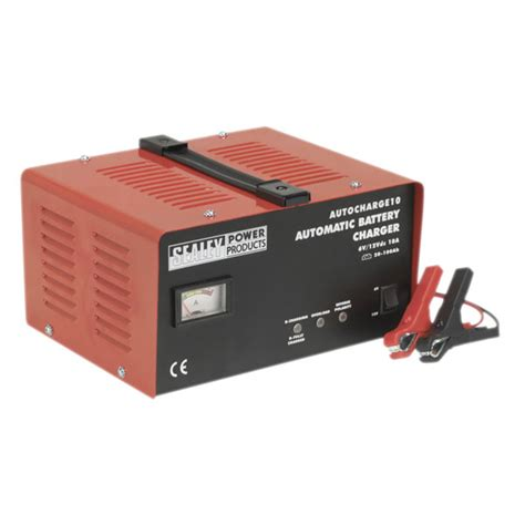 electric battery chargers sealey autocharge10 battery charger electronic 10 6 12v