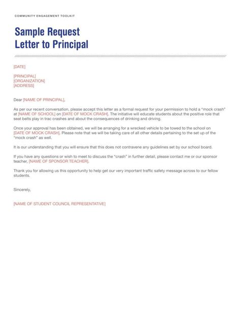 letters to 8 request letter to a principal templates pdf free