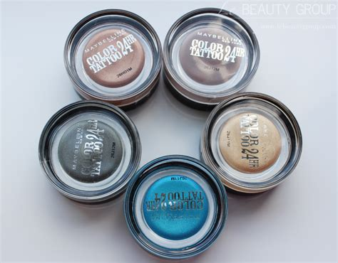 Eyeshadow Gel maybelline color 24hr gel eyeshadow