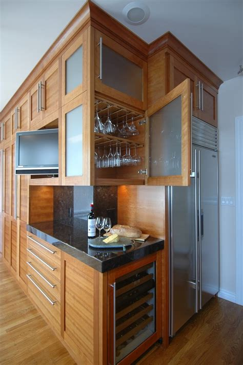 baroque stemware rack  kitchen contemporary  glass