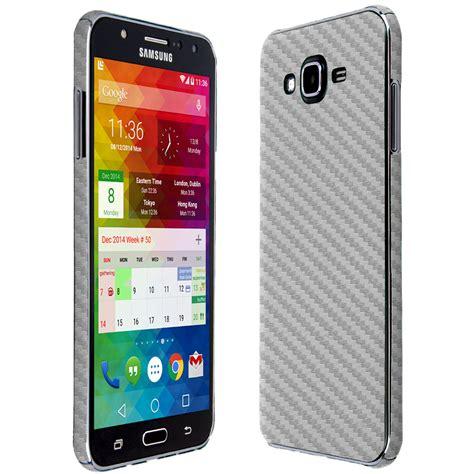 Samsung J7 Silver Skinomi Techskin Samsung Galaxy J7 Silver Carbon Fiber