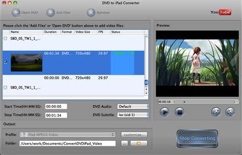 dvd format converter mac dvd to ipad 2 video converter rip dvd to ipad videos