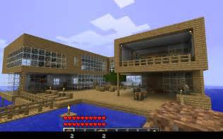 Modern Lake House drunk s modern lake house minecraft project