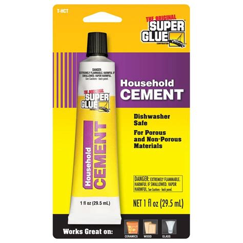1 fl oz household cement 12 pack glue 202805689