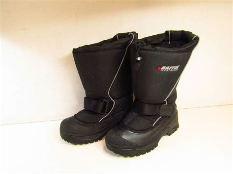 mens snow boots size 8 pair baffin polar proven mens size 8 winter snow boots