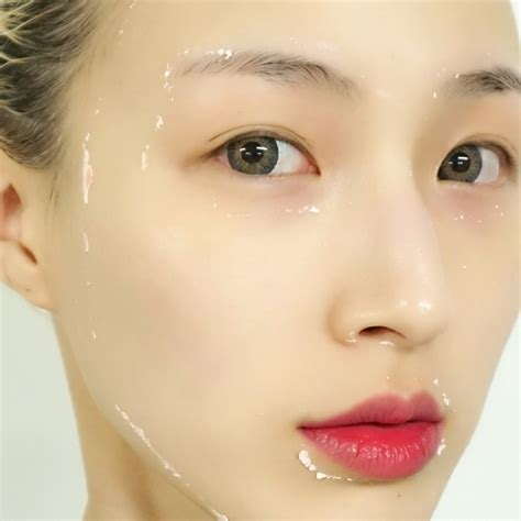etude house fresh cup modeling mask review