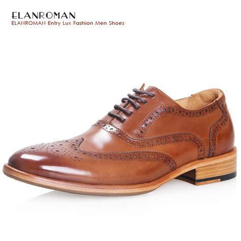 luxury mens shoe brand elanroman autumn dress