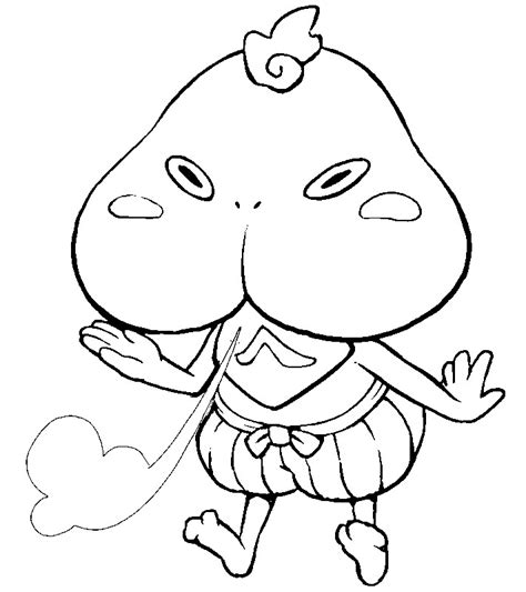 wazzat yo kai watch coloring pages coloring pages