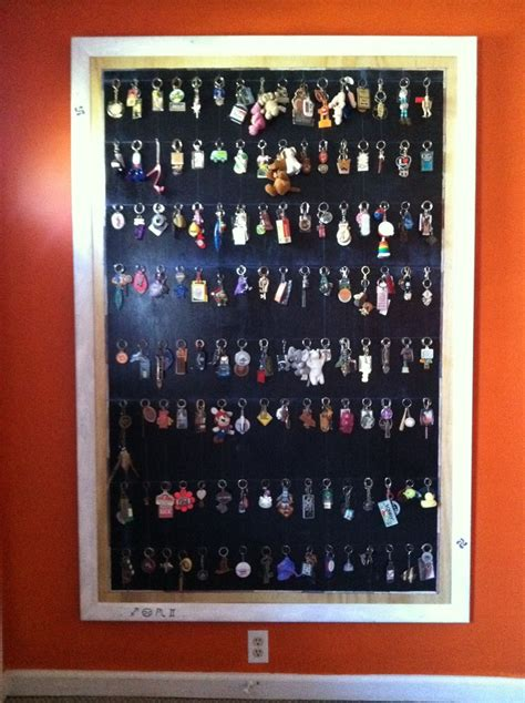 Key Chain Collection Display Made - key chain collection display key rings jeff