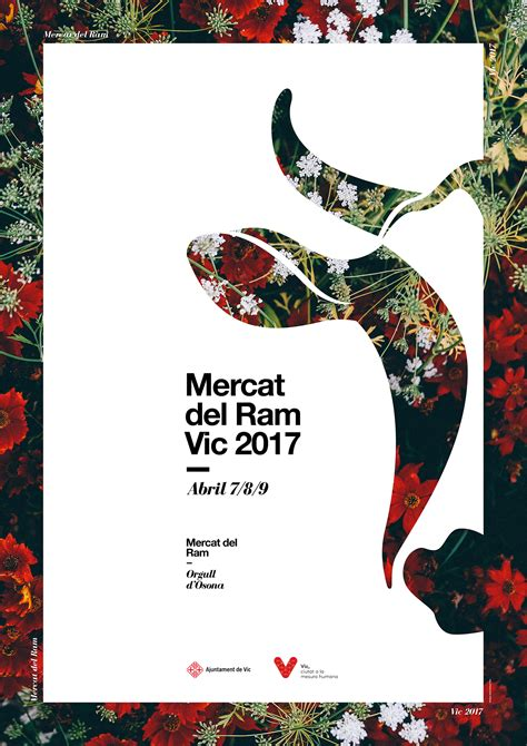 best poster layout designs mercat del ram poster image on inspirationde