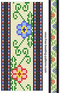 free pattern beading loom patterns bead loom