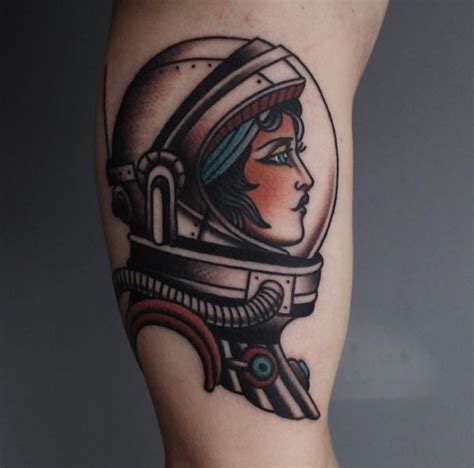 tattoo new school space 25 best ideas about astronaut tattoo on pinterest