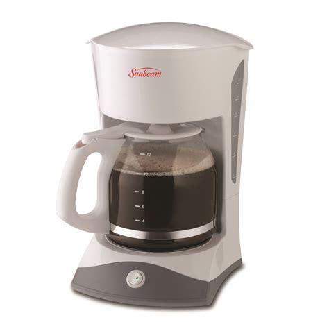 sunbeam  cup switch coffeemaker white