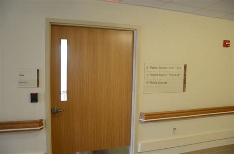 Hospital Door by Chester County Hospital L H Sign Company Philadelphia Pa