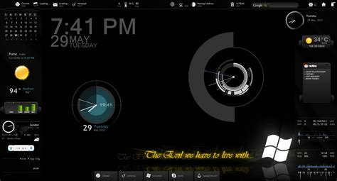 rainmeter themes for windows 8 1 pin rainmeter themes desktop art imdadareeph 300856 on
