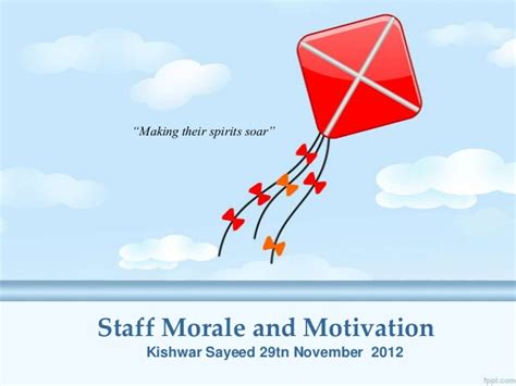 Search Morale Staff Morale And Motivation