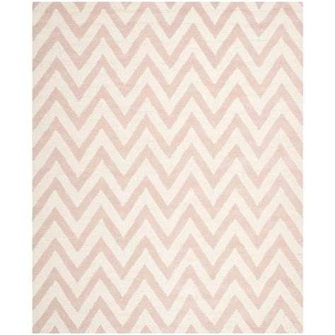 light pink wool rug safavieh cambridge light pink ivory 8 ft x 10 ft area