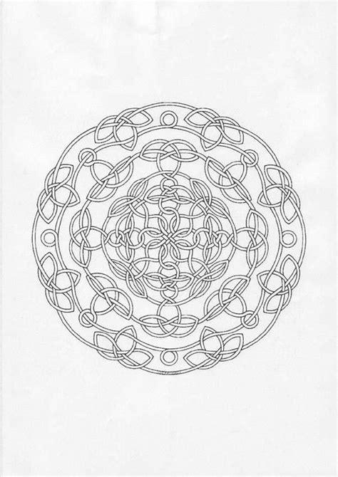 Desenhos para colorir de mandala dificil para colorir
