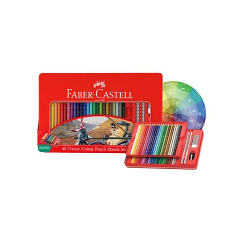 Pensil Warna Faber Castell 48 Classic Colour faber castell classic colour pencils