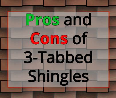 10 Pros And Cons Of Using Tons For Your Period by What Are The Pros And Cons Of 3 Tab Asphalt Shingle Roofing