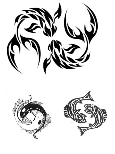 tribal pisces tattoo designs pisces tattoos designs ideas and meaning tattoos for you