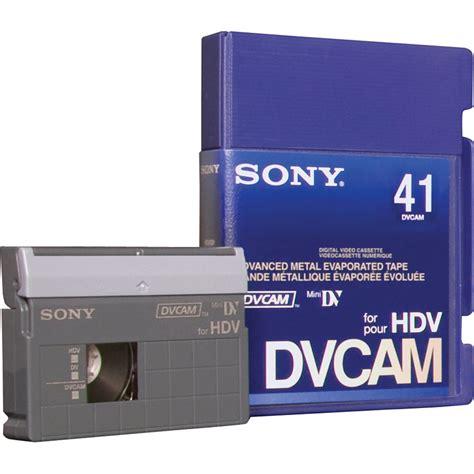 hdv cassette sony pdvm 41n 3 dvcam for hdv pdvm41n 3 b h photo