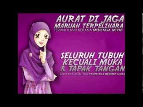 menutup aurat muslimah