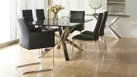 Crackle Glass Top Dining Table With Metal Base Ebth Crackled 84 Quot X 44 Quot Large Dining Table Top Zuri Furniture