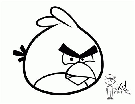 angry birds terence coloring pages angry bird terence coloring page az coloring pages
