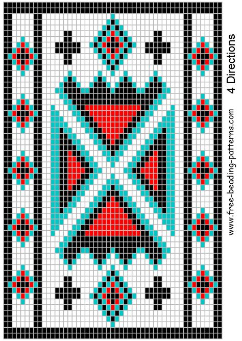 free american beadwork patterns re possibles bags