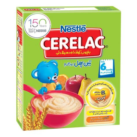 buy nestle cerelac 3 fruits wheat in 175g 350g in pakistan