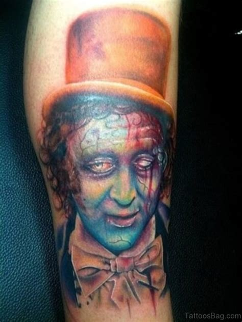 51 horror zombie tattoos for leg