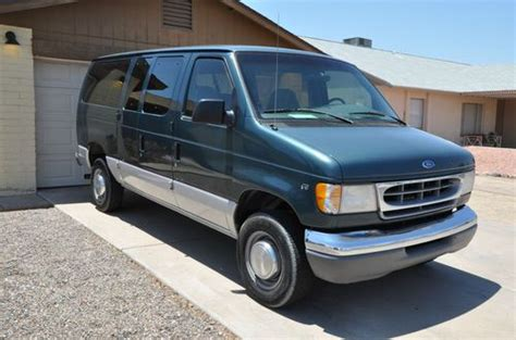 how things work cars 1997 ford econoline e350 lane departure warning find used 1997 ford e350 v10 12 passenger van in peoria arizona united states