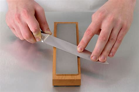 sharpening knives with a whetstone how to sharpen a knife with a whetstone
