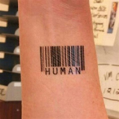 barcode tattoos for men barcode tattoos and designs page 80