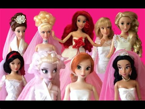 Wedding Animation Collection by Disney Princess Dolls Collection In Wedding Dresses 9