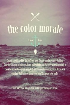 The Color Morale Strange Comfort Lyrics by And Quotes On Lyric Quotes Silver