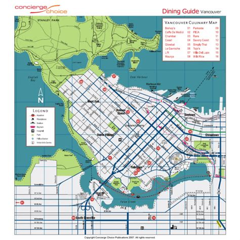 printable map vancouver bc maps update 21051488 vancouver tourist attractions map